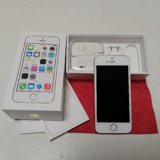 アイフォーン(iPhone)のiPhone 5s Gold 16GB ME334J/A(スマートフォン本体)