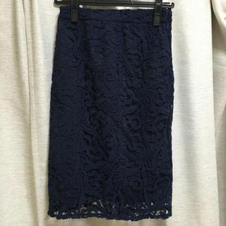 ケービーエフプラス(KBF+)のKBF+ レースタイトスカート(ひざ丈スカート)