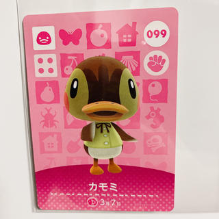 Nintendo Switch - あつ森 amiiboカード カモミ