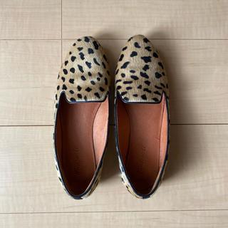メイドウェル(Madewell)のMadewell レオパード ローファー(ローファー/革靴)