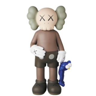 MEDICOM TOY - kaws share brown 新品未開封