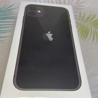iPhone - 新品・未開封 iPhone11 SIMフリー 256GB ブラック