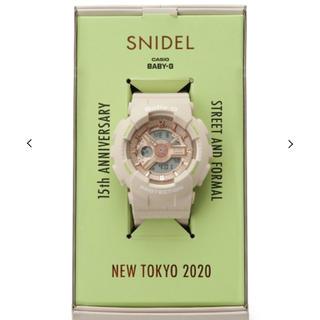snidel - スナイデル SNIDEL×CASIOBaby-G