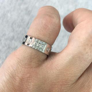 (新品) Pt900 ダイヤモンドリング 4号 0.07ct (1)(リング(指輪))