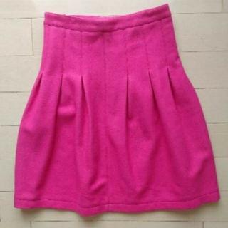 イプダ(epuda)のepuda ピンクスカート(ひざ丈スカート)