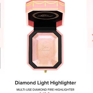 トゥフェイス(Too Faced)のトゥーフェイスドのダイヤモンドライト ハイライト(フェイスパウダー)