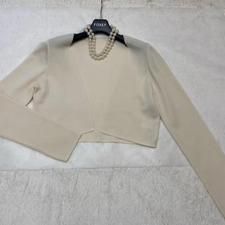 FOXEY -  美品 フォクシー  ボレロカーディガン 40 lady square
