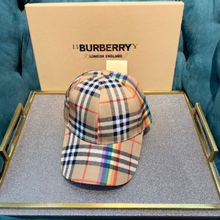 BURBERRY - Burberry バーバリーキャップ 男女兼用 箱付き