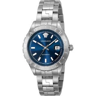 ジャンニヴェルサーチ(Gianni Versace)のVERSACE ヴェルサーチ 腕時計 正規品 本物 新品 メンズ シルバー箱付き(腕時計(アナログ))