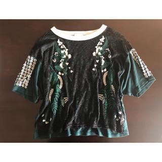 マメ(mame)のmame T-shirt(Tシャツ(半袖/袖なし))