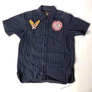バズリクソンズ(Buzz Rickson's)の【H】BR36574 バズリクソンズ コントラクターシャツ ネイビー 15(シャツ)