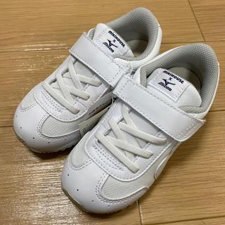 mikihouse - ミキハウス × ミズノ 18cm ホワイト