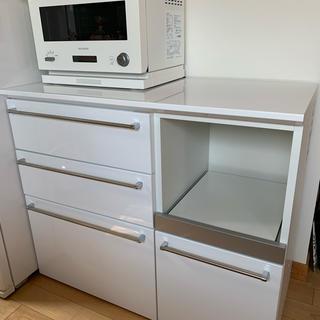 ACTUS - エスエークラフト ホワイト 食器棚 キッチンボード アクタス