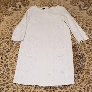 エスカーダ(ESCADA)のエスカーダESCADA刺繍ワンピース(ひざ丈ワンピース)