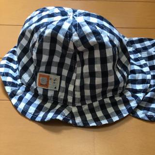 西松屋 - 日除け付き 帽子 46センチ