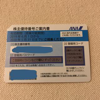 ANA(全日本空輸) - 全日空 ANA 株主優待券1枚 2019年6月1日〜2020年5月31日❷