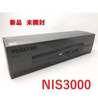 テスコム(TESCOM)のNobby by TESCOM ヘアーアイロン NIS3000(K)  ブラック(ヘアアイロン)