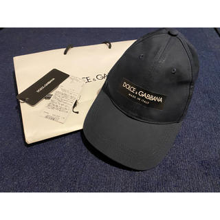DOLCE&GABBANA - [未使用品・タグ付属]DOLCE&GABBANA キャップ ユニセックス