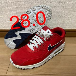 ナイキ(NIKE)の【28】AIR MAX 90 ESSENTIAL university red(スニーカー)