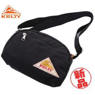 ケルティ(KELTY)の【新品・未使用】KELTY ROUND TOP BAG S BLACK(ショルダーバッグ)