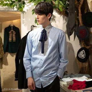 ミルクボーイ(MILKBOY)のmilkboy TUCKED RIBBON SHIRTS リボンシャツ(シャツ/ブラウス(長袖/七分))