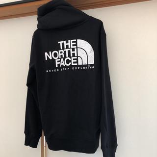 THE NORTH FACE - 新品未使用タグ付!ノースフェイス USA新作 等高線ハーフドームロゴ  パーカー