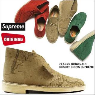 シュプリーム(Supreme)の*希少美品* シュプリーム   ブーツ クラークス supreme boots(ブーツ)