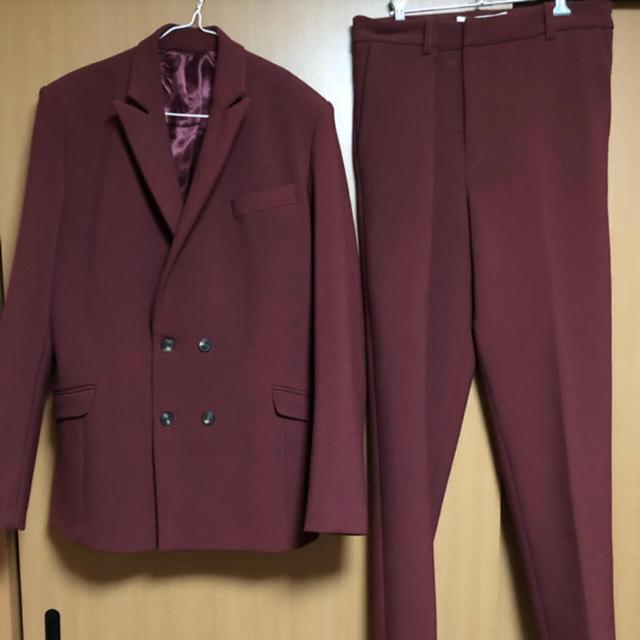 JOHN LAWRENCE SULLIVAN(ジョンローレンスサリバン)の超希少 MARTINE ROSE 2017aw セットアップ メンズのスーツ(セットアップ)の商品写真