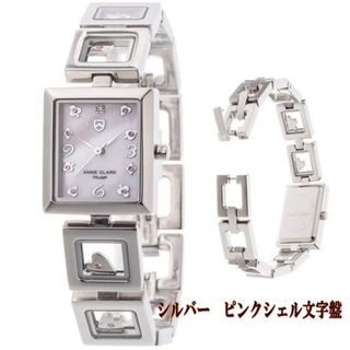 アンクラーク(ANNE CLARK)の【新品未使用】ANNE CLARK/アンクラーク ピンクゴールド 腕時計(腕時計)