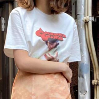 スナイデル(snidel)の未開封🌷新作新品🍀スナイデル 時計仕掛けのオレンジ Tシャツ(Tシャツ(半袖/袖なし))