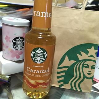 Starbucks Coffee - スターバックス キャラメルフレーバー シロップ