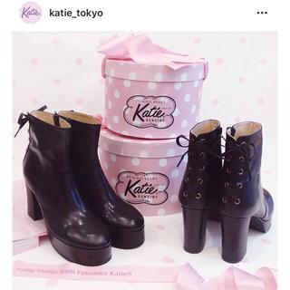 ケイティー(Katie)のkatie ケイティ KRISTEN short boots🎀(ブーツ)