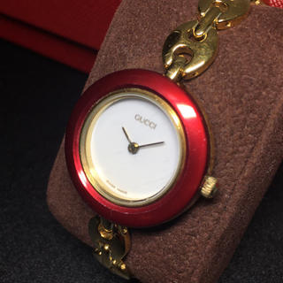 Gucci - 【正規品 可動品】グッチ レディースウォッチ 腕時計 GUCCI ゴールド