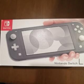 新品 nintendo switch lite スイッチ グレー (家庭用ゲーム機本体)