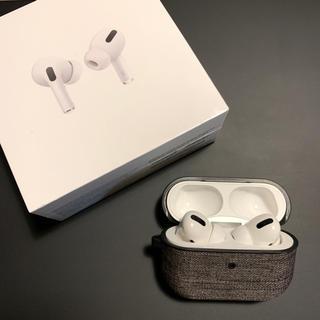 アップル(Apple)のapple AirPods Pro wireless charging case(ヘッドフォン/イヤフォン)