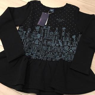 アナスイミニ(ANNA SUI mini)の定価以下❤️新品*アナスイミニ  トレーナー  130(Tシャツ/カットソー)