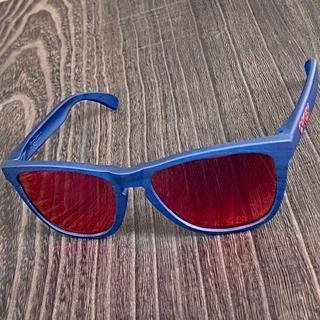 Oakley - 【希少】★オークリー フロッグスキン★Matte Blue Woodgrain