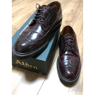 Alden - オールデン 975 コードバン 6.5D バリーラスト カラー8  美品