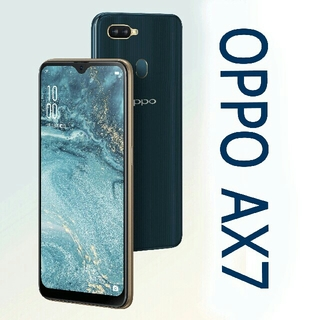 ANDROID - 新品未開封 OPPO AX7 ブルー