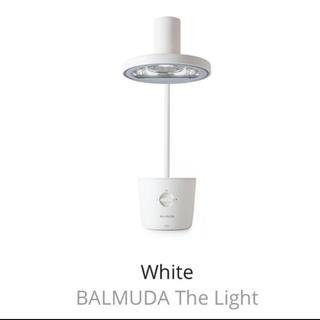 バルミューダ(BALMUDA)のバルミューダ   ザ ライト ホワイト(テーブルスタンド)