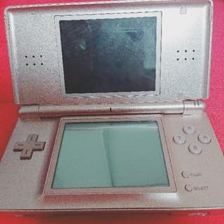ニンテンドーDS(ニンテンドーDS)のDSLite ピンク+ゲームボーイアドバンスポケモングリーン(携帯用ゲーム機本体)