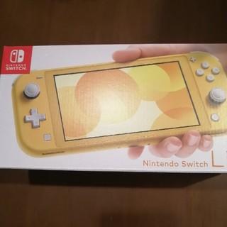 新品 nintendo switch lite スイッチ ライト   イエロー (家庭用ゲーム機本体)