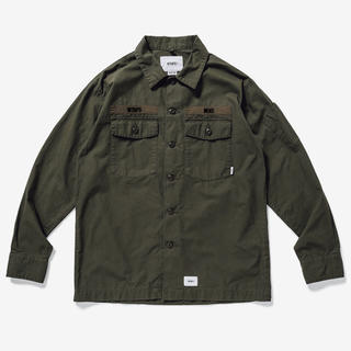 W)taps - WTAPS BUDS LS / SHIRT. COTTON. RIPSTOP