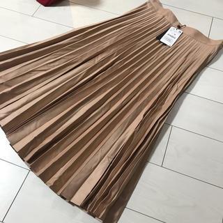 ZARA - ザラ 新品 L プリーツ スカート