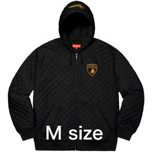 Supreme - Supreme Lamborghini Hooded Work Jacket 黒