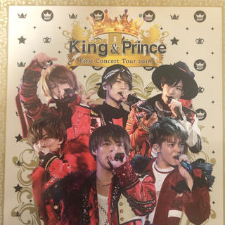 Johnny's - King&Prince FirstConcertTour2018 初回限定盤