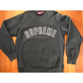 Supreme - supreme arc logo crewneck L navy 15aw