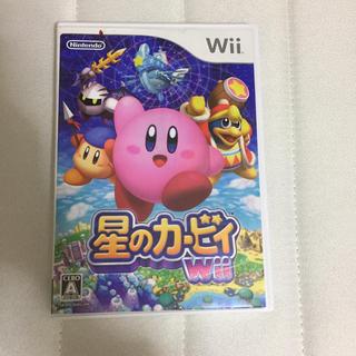 ウィー(Wii)の星のカービィ Wii (説明書なし)(家庭用ゲームソフト)