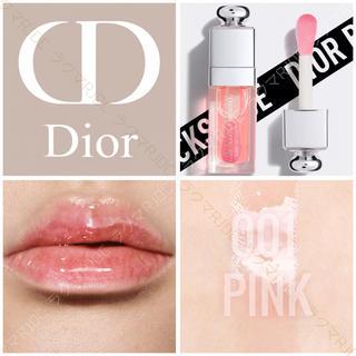 Dior - 【新品箱なし】001 ピンク ディオール アディクト リップグロウオイル