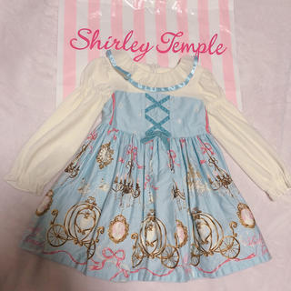 Shirley Temple - シャーリーテンプル シンデレラワンピース90